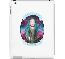Halsey You're Outta This World Galaxy iPad Case/Skin