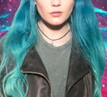 Halsey You're Outta This World Galaxy Sticker