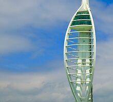 Spinnaker Tower  Portsmouth Harbour UK by lightmonger