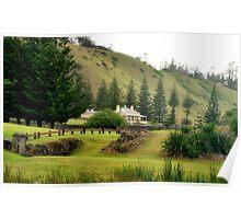 Norfolk Island towards Quality Row Poster