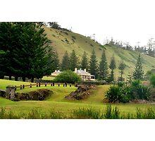 Norfolk Island towards Quality Row Photographic Print