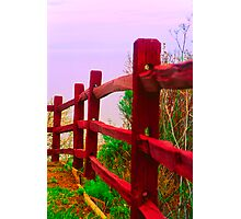 Fence Against the Sky Photographic Print