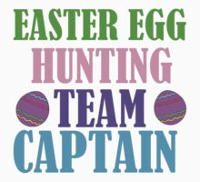 EASTER EGG HUNTING TEAM CAPTAIN Kids Clothes