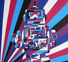 Robot No2 by Annagarside