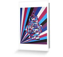 Robot No2 Greeting Card