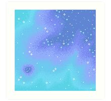 Twilight Nebula Art Print