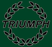 Triumph - Classic Car Logos by brookestead