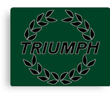 Triumph - Classic Car Logos Canvas Print