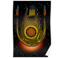 Traveling Star Poster