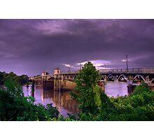 Lea Joyner Memorial Bridge Photographic Print