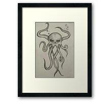Skullsquid Framed Print