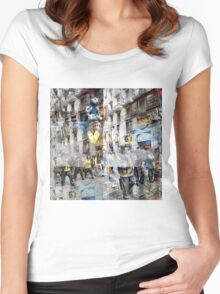 CAM02117-CAM02120_GIMP_A Women's Fitted Scoop T-Shirt