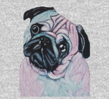 Artistic mr Pug Kids Clothes