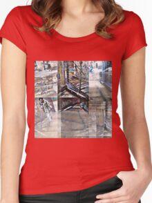 CAM02123-CAM02126_GIMP_B Women's Fitted Scoop T-Shirt