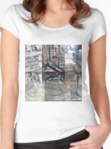 CAM02123-CAM02126_GIMP_B Women's Fitted Scoop T-Shirt