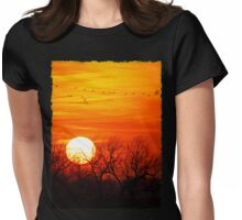 Sandhills Delight Womens Fitted T-Shirt