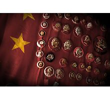 faces of mao Photographic Print