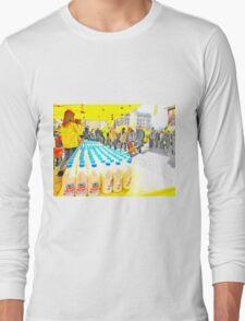 Milk bottles Long Sleeve T-Shirt