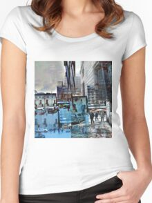 CAM02150-CAM02153_GIMP_B Women's Fitted Scoop T-Shirt