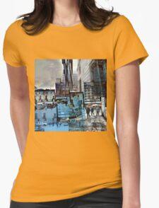 CAM02150-CAM02153_GIMP_B Womens Fitted T-Shirt
