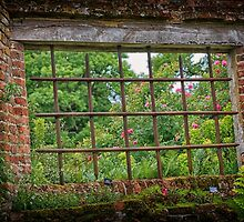 A room with a view - Sissinghurst Castle by Sue Purveur