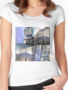 CAM02242-CAM02245_GIMP_B Women's Fitted Scoop T-Shirt