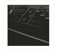 Roland SH-09 Synthesiser Art Print