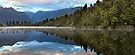 Lake Matheson Dawn, South Island, New Zealand by Michael Boniwell