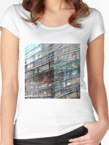 CAM02246-CAM02249_GIMP_B Women's Fitted Scoop T-Shirt