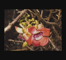 Exotic Cannonball Tree Flowers - Honolulu, Hawaii Kids Clothes