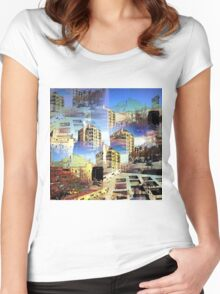 CAM02282-CAM02285_GIMP_A Women's Fitted Scoop T-Shirt