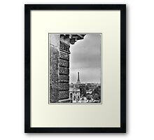 Paris - view from the Louvre Framed Print