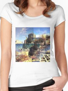 CAM02282-CAM02285_GIMP_B Women's Fitted Scoop T-Shirt