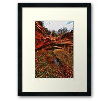 RockHollow Ravine Framed Print