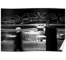 Waiting for the Train Poster