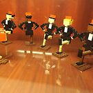 Lego Rockettes, Lego Store Rockefeller Center, New York City by lenspiro