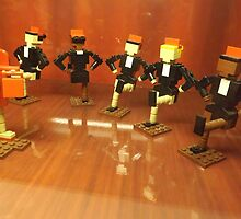 Lego Rockettes, Lego Store Rockefeller Center, New York City by lenspiro