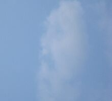 FACE IN THE CLOUDS by umauma
