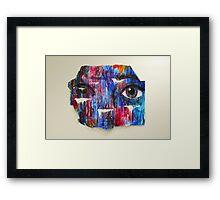 Coloured and Plastered 2 Framed Print