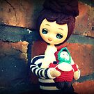 Two Dolls Together Too by Andi Morton