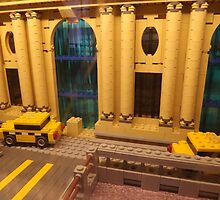 Lego Grand Central Terminal, Lego Store Rockefeller Center, New York City by lenspiro