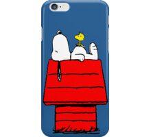 Snoopy & Woodstock iPhone Case/Skin