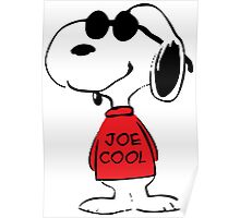 Snoopy in Joe Cool Poster