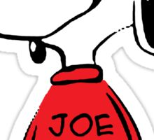 Snoopy in Joe Cool Sticker