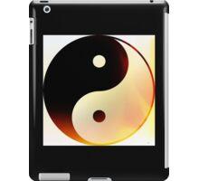 Yin and Yang Flame iPad Case/Skin