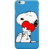 Snoopy in love iPhone Case/Skin
