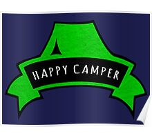 Happy Camper. Poster