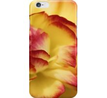 Colorful petals iPhone Case/Skin