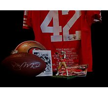 49er GREATS Photographic Print