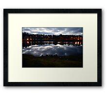River Fal, Cornwall Framed Print